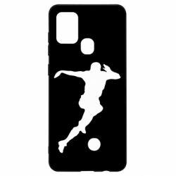 Чехол для Samsung A21s Футбол
