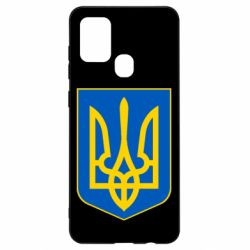 Чехол для Samsung A21s Герб неньки-України