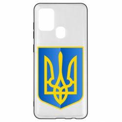 Чехол для Samsung A21s Герб України 3D