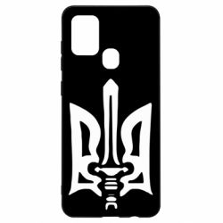 Чехол для Samsung A21s Герб з мечем