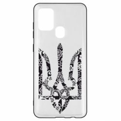 Чехол для Samsung A21s Герб з візерунками