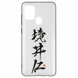 Чохол для Samsung A21s Ghost Of Tsushima Hieroglyphs