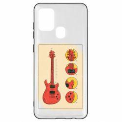 Чохол для Samsung A21s Гітара