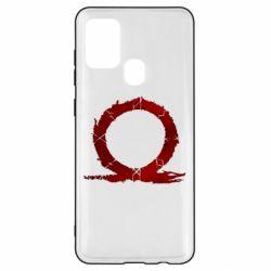 Чохол для Samsung A21s God Of War Circle