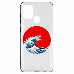 Чохол для Samsung A21s Godzilla Wave