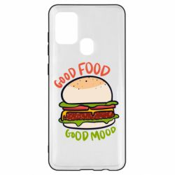 Чехол для Samsung A21s Good Food