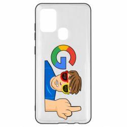 Чохол для Samsung A21s Google guy Fuck You
