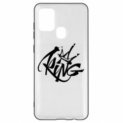Чехол для Samsung A21s Graffiti king