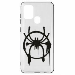 Чохол для Samsung A21s Graffiti Spider Man Logo