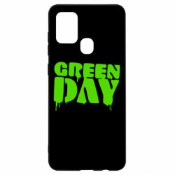 Чехол для Samsung A21s Green Day