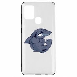 Чохол для Samsung A21s Gym Shark