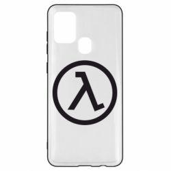 Чехол для Samsung A21s Half Life Logo