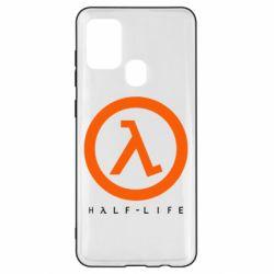 Чехол для Samsung A21s Half-life logotype
