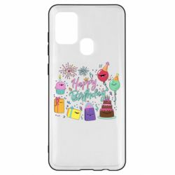Чохол для Samsung A21s Happy Birthday