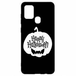 Чохол для Samsung A21s Happy halloween smile