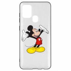 Чохол для Samsung A21s Happy Mickey Mouse