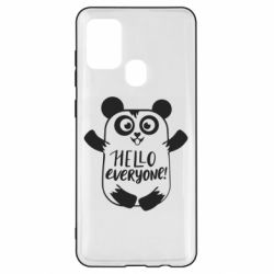 Чехол для Samsung A21s Happy panda