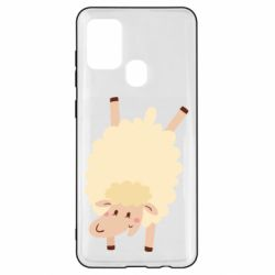 Чохол для Samsung A21s Happy sheep