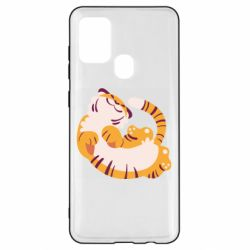 Чохол для Samsung A21s Happy tiger