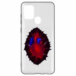 Чехол для Samsung A21s Heart and blood vessels