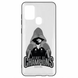 Чехол для Samsung A21s Heart of Champions