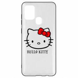 Чехол для Samsung A21s Hello Kitty
