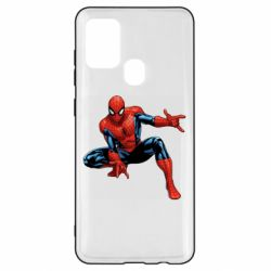 Чехол для Samsung A21s Hero Spiderman