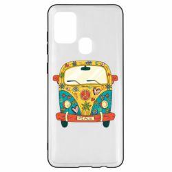 Чохол для Samsung A21s Hippie bus