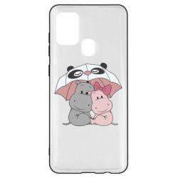 Чохол для Samsung A21s Hippos