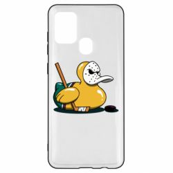 Чохол для Samsung A21s Hockey duck