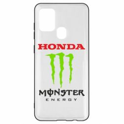 Чехол для Samsung A21s Honda Monster Energy