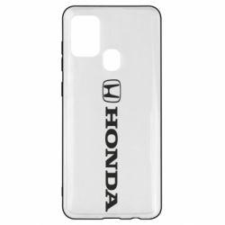 Чехол для Samsung A21s Honda Small Logo