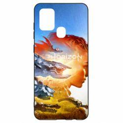 Чехол для Samsung A21s Horizon Zero Dawn art