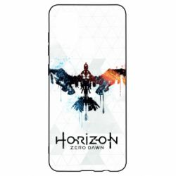 Чехол для Samsung A21s Horizon Zero Dawn low poly