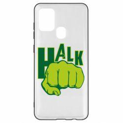 Чехол для Samsung A21s Hulk fist