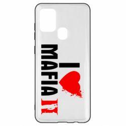 Чехол для Samsung A21s I love Mafia 2