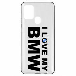Чохол для Samsung A21s I love my BMW