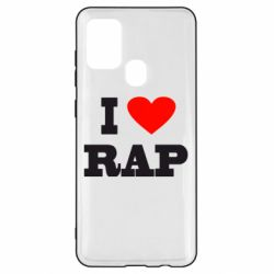 Чехол для Samsung A21s I love rap