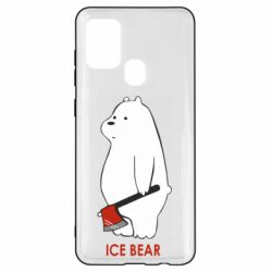 Чохол для Samsung A21s Ice bear
