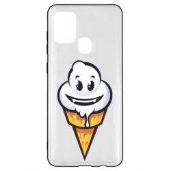 Чохол для Samsung A21s Ice cream graffiti