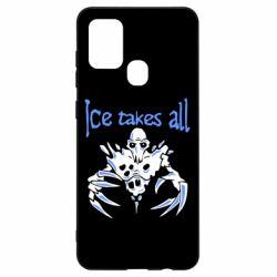 Чехол для Samsung A21s Ice takes all Dota
