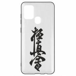 Чехол для Samsung A21s Иероглиф