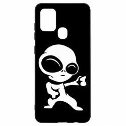 Чохол для Samsung A21s Інопланетянин