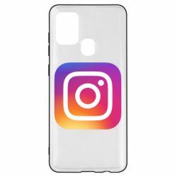 Чохол для Samsung A21s Instagram Logo Gradient