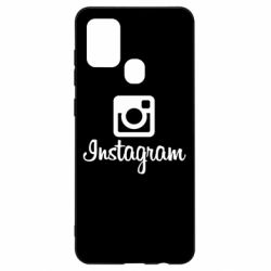 Чехол для Samsung A21s Instagram