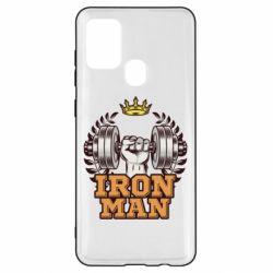 Чохол для Samsung A21s Iron man and sports