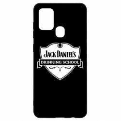 Чехол для Samsung A21s Jack Daniel's Drinkin School