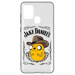 Чохол для Samsung A21s Jack Daniels Adventure Time
