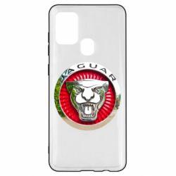 Чохол для Samsung A21s Jaguar emblem