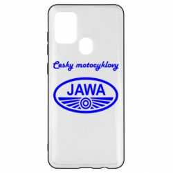Чохол для Samsung A21s Java Cesky Motocyclovy